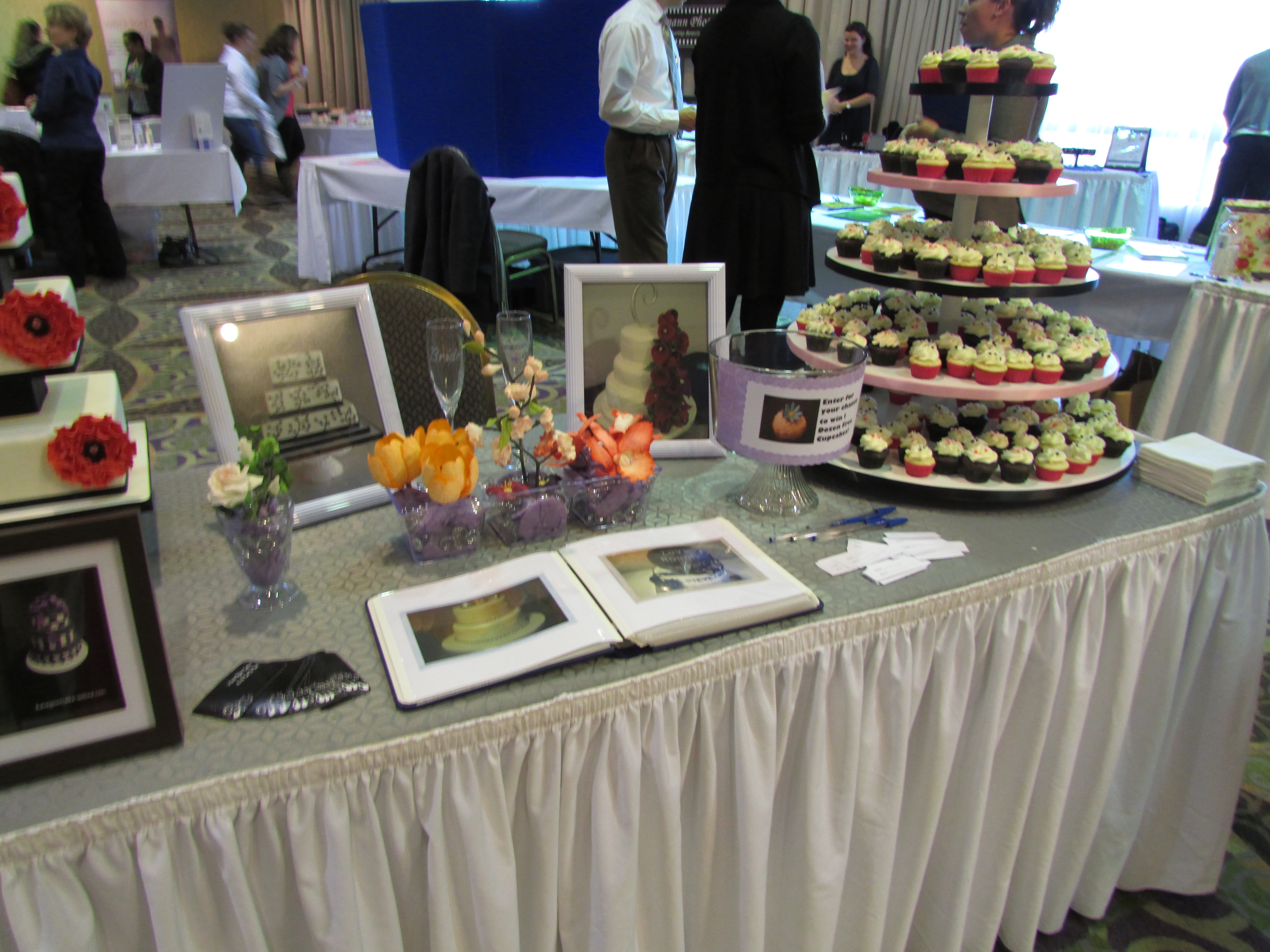 Example of wedding show, Cinderella Show, Welcome Wagon Show and Ribbons and Romance wedding fair